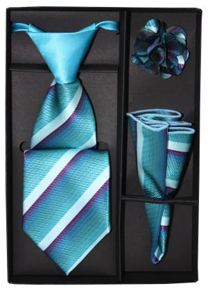 5 Second Tie Set with Design- 5ST-17015 5ST-17015