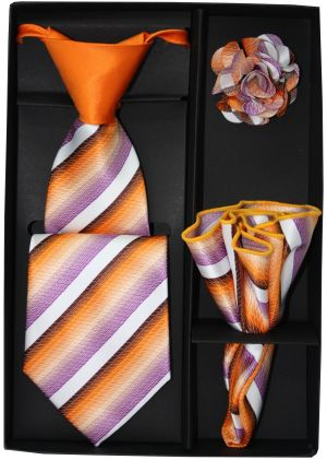 5 Second Tie Set with Design- 5ST-17016 5ST-17016