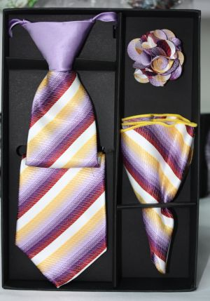 5 Second Tie Set with Design- 5ST-17017 5ST-17017