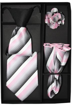 5 Second Tie Set with Design- 5ST-17018 5ST-17018