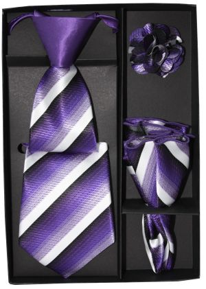 5 Second Tie Set with Design- 5ST-17019 5ST-17019