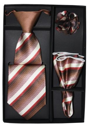 5 Second Tie Set with Design- 5ST-17021 5ST-17021