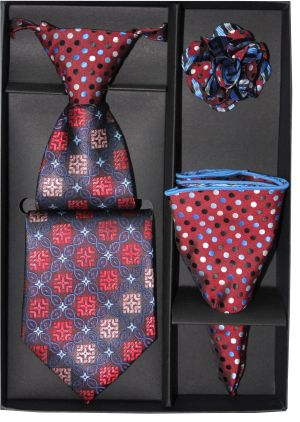5 Second Tie Set with Design- 5ST-17024 5ST-17024