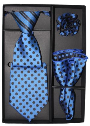 5 Second Tie Set with Design- 5ST-17038 5ST-17038