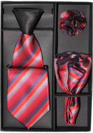 5 Second Tie Set with Design- 5ST-17020 5ST-17020