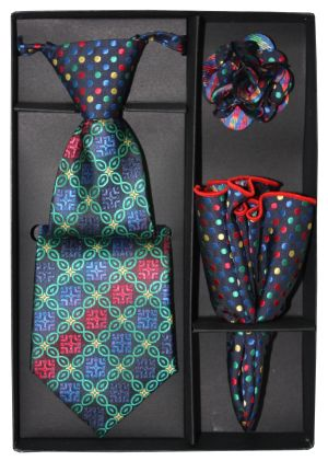 5 Second Tie Set with Design- 5ST-17027 5ST-17027