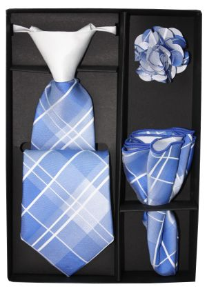 5 Second Tie Set with Design- 5ST-17028 5ST-17028
