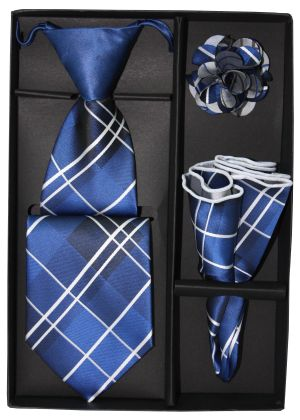 5 Second Tie Set with Design- 5ST-17030 5ST-17030