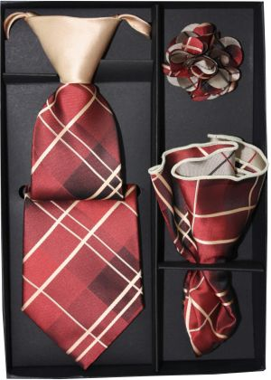 5 Second Tie Set with Design- 5ST-17031 5ST-17031