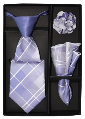 5 Second Tie Set with Design- 5ST-17033 5ST-17033