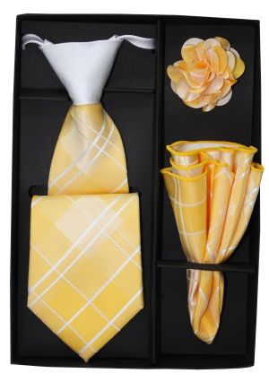 5 Second Tie Set with Design- 5ST-17034 5ST-17034