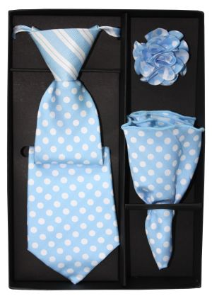 5 Second Tie Set with Design- 5ST-17036 5ST-17036