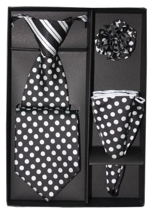 5 Second Tie Set with Design- 5ST-17037 5ST-17037
