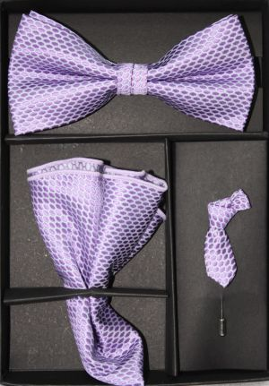 Bowtie, Tie Lapel Flower and Hanky 16169 BTH16169