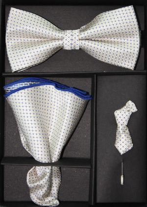 Bowtie, Tie Lapel Flower and Hanky 16173 BTH16173