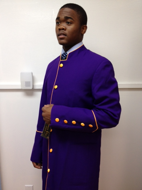 Menz Clergy Robe- SIZES 36 TO 62 #CR-SIZES36TO62