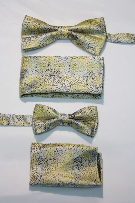 Father and Son Bow Tie and Hanky -FNS-15147 FNS-15147