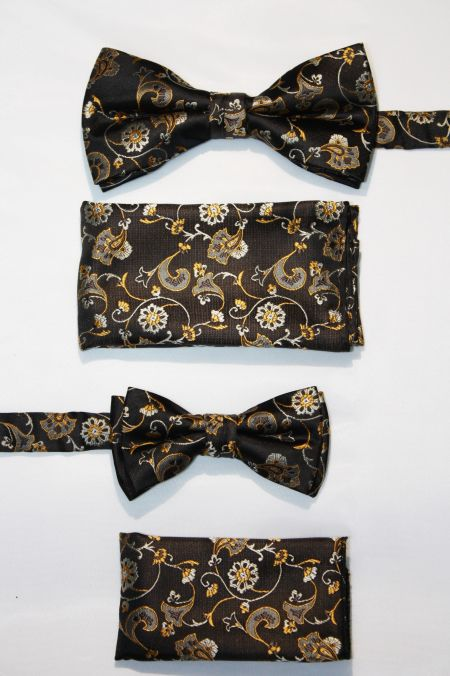 Father and Son Bow Tie and Hanky -FNS-15152 FNS-15152