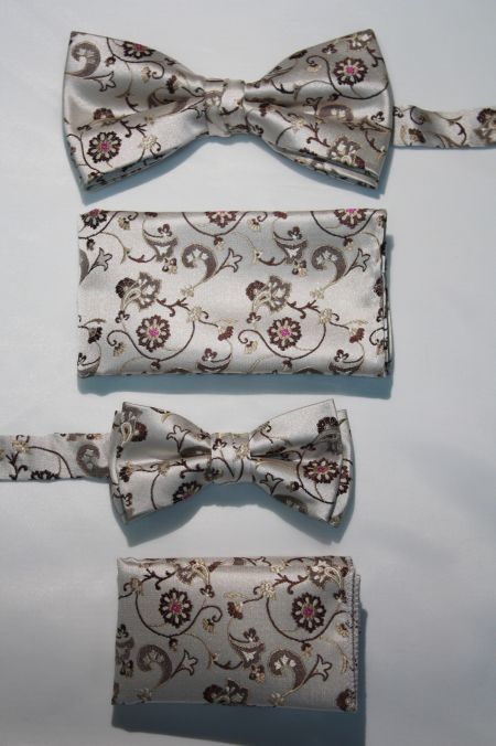 Father and Son Bow Tie and Hanky -FNS-15153 FNS-15153