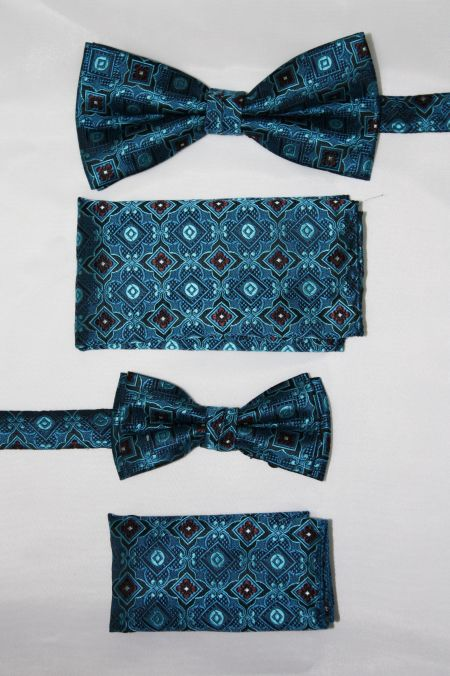 Father and Son Bow Tie and Hanky -FNS-15164 FNS-15164