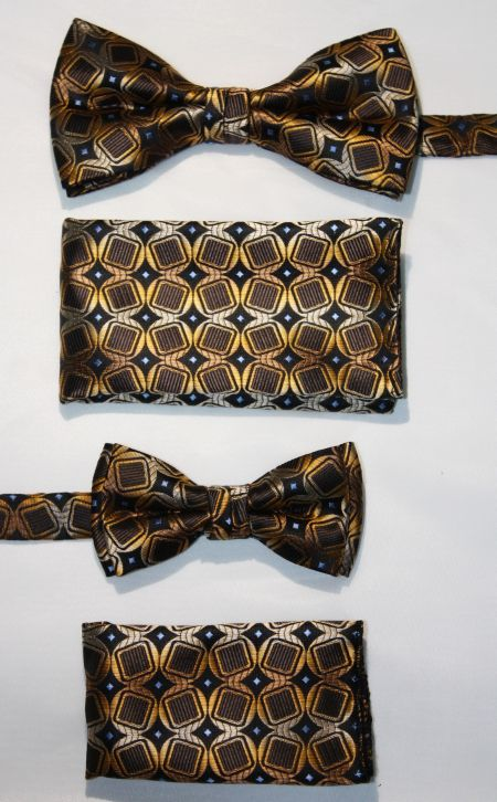 Father and Son Bow Tie and Hanky -FNS-15167 FNS-15167