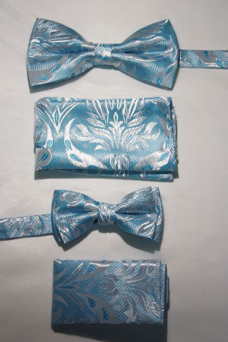 Father and Son Bow Tie and Hanky -FNS-15169 FNS-15169
