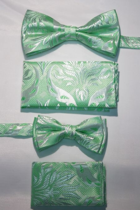 Father and Son Bow Tie and Hanky -FNS-15170 FNS-15170