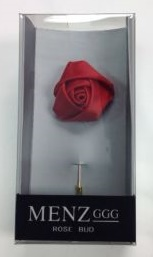 Lapel Rose Bud Red LRBUDRed