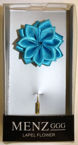 Lotus Lapel Flower 12  TEAL LLF-12-TEAL