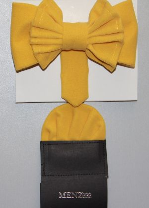 Man's Bowtie MBTV13204-Yellow MBTV13204