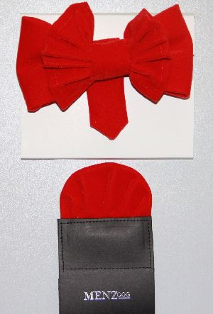 Man's Bowtie MBTV13210-Red MBTV13210