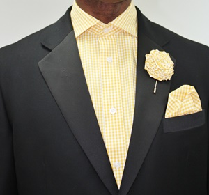 Shirt,Hanky and Lapel Flower - GS30 GS30