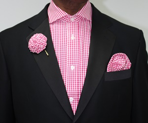 Shirt,Hanky and Lapel Flower - GS32 GS32