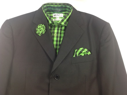 GS44 Shirt, Hanky and Lapel Flower GS44