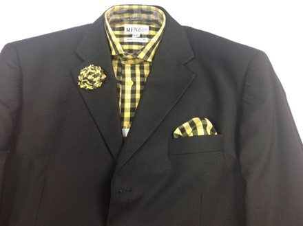 GS45 Shirt, Hanky and Lapel Flower GS45