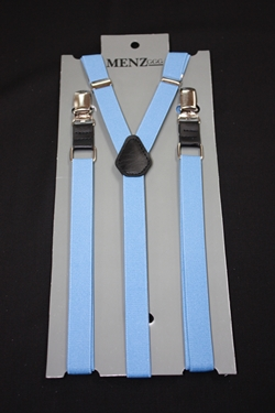 Skinny Suspenders French Blue SSFrenchBlue
