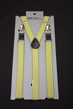Skinny Suspenders Olive Green SSOliveGreen