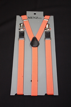 Skinny Suspenders Orange SSOrange
