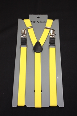 Skinny Suspenders Yellow SSYellow