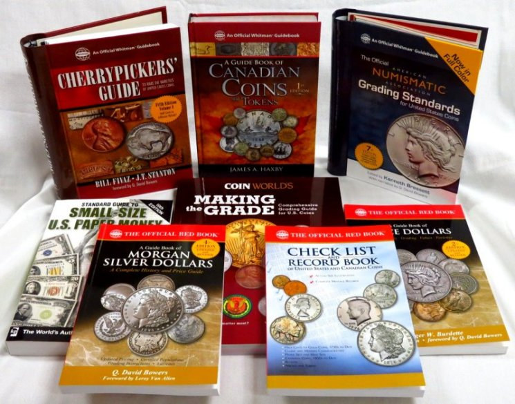 Coin Collecting Reference Books