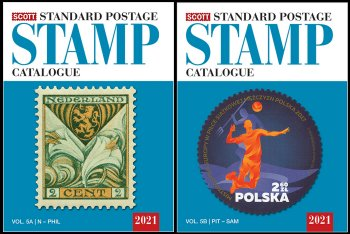 Scott STANDARD POSTAGE STAMP CATALOGUE 2021 VOLUME 5 COUNTRIES N-SAM  AB  <p><B><font size=3 color=black>*ONLY AVAILABLE WHILE SUPPLIES LAST*<font size=3 color=black><B><p> #SCCAT521