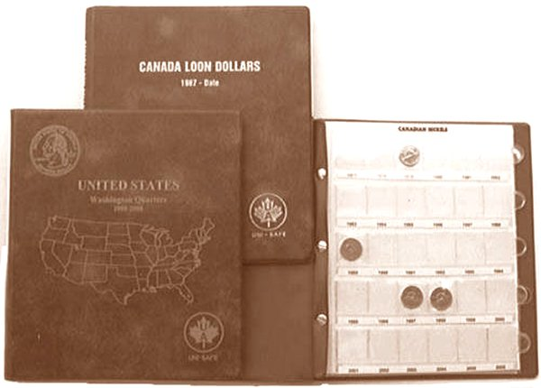 UniMaster 30 Pocket Page (holds cent - quarter) #UTCABLPG30