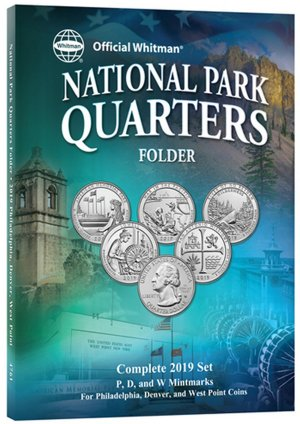 Whitman National Park Quarters 2019 PDW, 15 Coin WH4761
