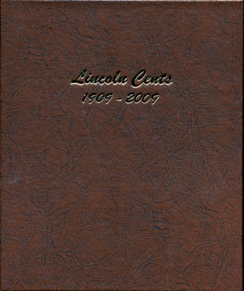 Dansco Album Lincoln Cents 1909-2009 <p><B>*TEMPORARILY OUT OF STOCK*<B><p> #DN7100