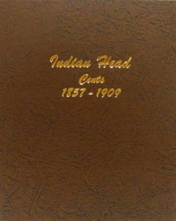 Dansco Album Indian Head/Eagle Cents 1857-1909 #DN7101