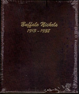 Dansco Album Buffalo Nickels 1913-1938 #DN7112