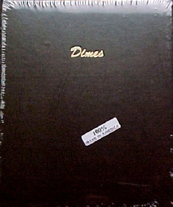 Dansco Album Dimes Plain 168 ports <p><B>*TEMPORARILY OUT OF STOCK*<B><p> #DN7127