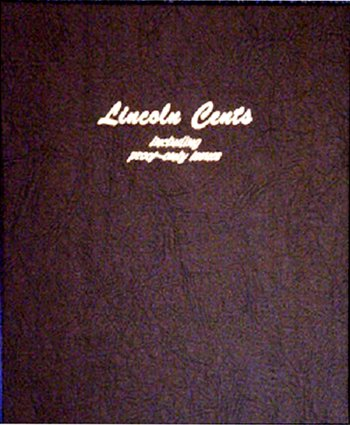 Dansco Album Lincoln Cents 1909-2009 including proofs<p><B><font size=3.5 color=red>*TEMPORARILY OUT OF STOCK*<font size=3 color=black><B><p> #DN8100