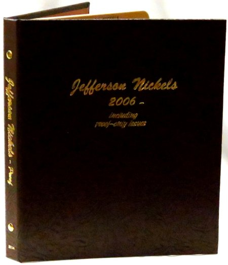 Dansco Album Jefferson Nickels 2006P-2017D including proofs  <p><B><font size=3.5 color=red>*TEMPORARILY OUT OF STOCK*<font size=3 color=black><B><p> #DN8114