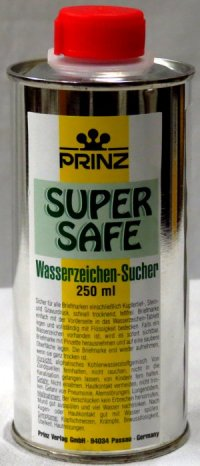Prinz Super Safe Watermark Fluid 250 ml<p><B><font size=3.5 color=red>*TEMPORARILY OUT OF STOCK*<font size=3 color=black><B><p> EDWM